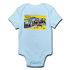 Havana Cuba Greetings Infant Bodysuit