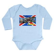 Montreal Quebec Canada Long Sleeve Infant Bodysuit