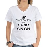 Keep Hashing And Carry On On Shirt