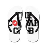 The Cougar Club Flip Flops