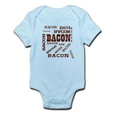 Bacon Bacon Bacon Infant Bodysuit