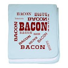 Bacon Bacon Bacon baby blanket