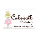 Cakewalk Catering Car Magnet 20 x 12