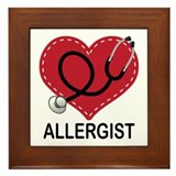 Allergist Gift Framed Tile