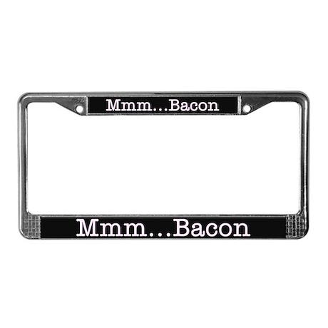 Mmm ... Bacon License Plate Frame