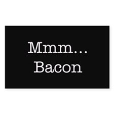 Mmm ... Bacon Decal