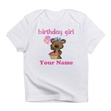 Birthday Girl Bear Infant T-Shirt