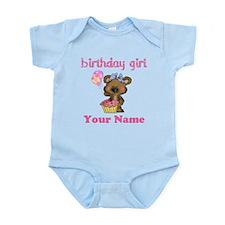 Birthday Girl Bear Onesie
