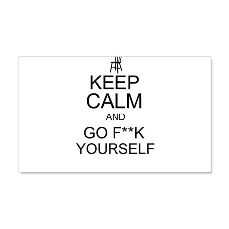 keep calm and go f**k yourself invisible Obama Eas