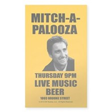 Mitch-A-Palooza Decal