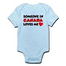 Someone In Canada Loves Me Infant Bodysuit