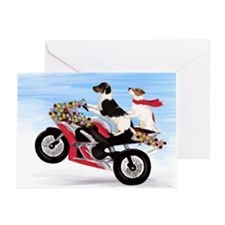 Jack Russell Terriers Greeting Cards (Pk of 10)