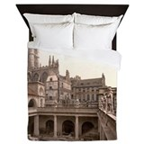 Roman Baths and Abbey Queen Duvet