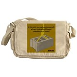 Cinder Block Messenger Bag