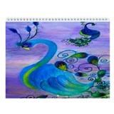 Bird art Wall Calendar