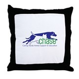 Chase Logo Throw Pillow