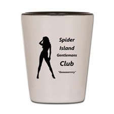 The Horrors of Spider Island Shot Glass
