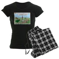 Snoring or Earthquake Women's Dark Pajamas