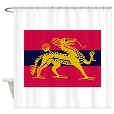 H.Q. Land Forces Hong Kong Shower Curtain