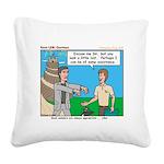 Courteous Square Canvas Pillow