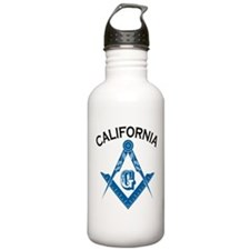 California Freemason Water Bottle