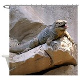 Rhino Iguana Shower Curtain