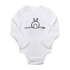 Cute Bunny Long Sleeve Infant Bodysuit