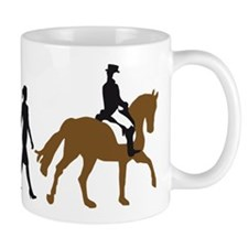 evolution horse riding Mug