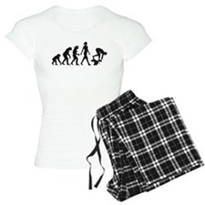 evolution female swimmer on startblock Pajamas
