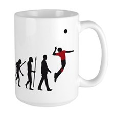 evolution volleyball player Mug