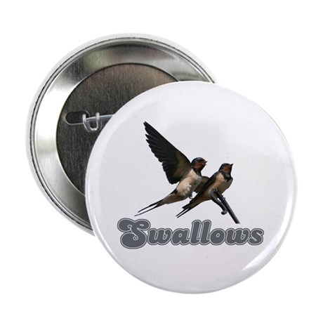 "Swallows 2.25"" Button (100 pack)"