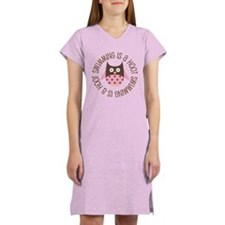Swimming Is A Hoot Women's Nightshirt