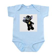 Black Moon Kitten Infant Creeper