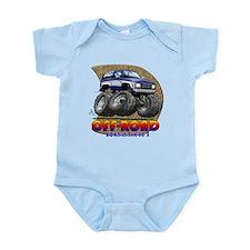 Blue White B2 Infant Bodysuit