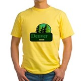 Denver Colorado t shirt truck stop novelty T