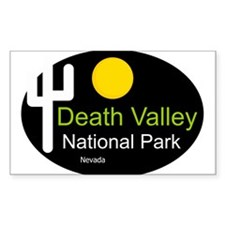 death valley national park Nevada Decal