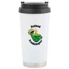Retired Radiologist Gift Ceramic Travel Mug