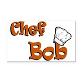 chef bob color.png Rectangle Car Magnet
