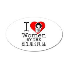 Mitt Romney: I Love Women By The Binder Full 20x12