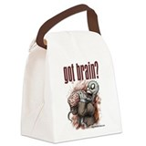PARODY - Zombie Got Brain? Canvas Lunch Bag