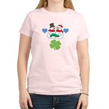 Snowmen Luck -  T-Shirt