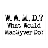 Vintage 90s MacGyver T.V. Series Postcards (Packag