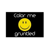 Gruntled Rectangle Magnet (10 pack)