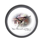 Home is the Nicest Word Wall Clock