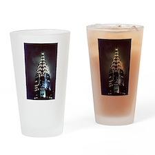 Chrysler Building: Night Drinking Glass