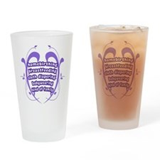 Crunchy Family Drinking Glass