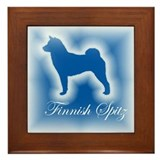 Finnish Spitz Framed Tile