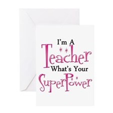 Cute Teaching Greeting Card
