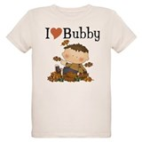 Autumn Boy I Love Bubby T-Shirt