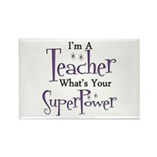 Funny Teacher Rectangle Magnet (100 pack)